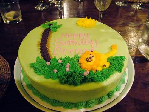 Miss B's birthday ice cream cake