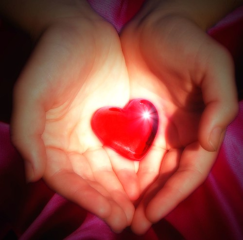 My heart in your hands by aussiegall, on Flickr
