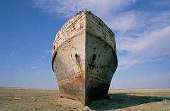 The Shipwreck of the Aral Sea (Elena Senao) Tags: kazakhstan ussr aralsea aralsk shipcementery usrr lpwater2