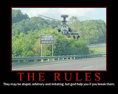 "speed limit enforced by aircraft - ""The R..."
