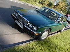 P1010031 (saabfan) Tags: park green sport racing eastbourne british 1991 jaguar hampden xj xj6 6cyl xj40 6cylinder 200hp 200bhp