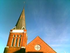 church downtown Raleigh