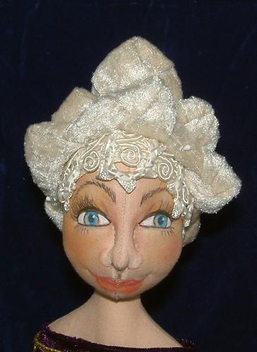 Doll head dress