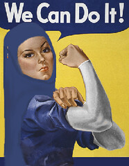 We Can Do It (Very Proud 2 Be Muslim) Tags: do muslim islam hijab can it we muslimah allah