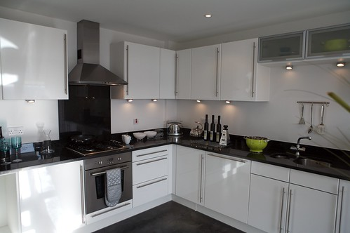 White And Black Kitchen silver black and white kitchen ideas ~ image furniture inspiration
