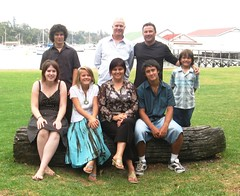 Ed Ainscough & family 2007