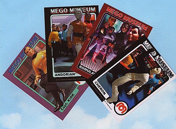 Mego Museum cards