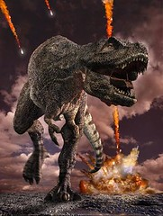 T. rex and meteor impact