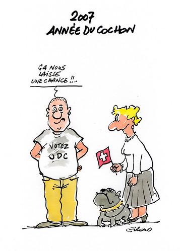 2007 annee du cochon