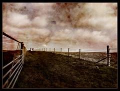 Walk On By (Gary*) Tags: old trees sky people english texture nature rural fence walking landscape countryside bravo gate quality farmland fields nostalgic interestingness2 sharpenhoe magicdonkey lovephotography artlibre impressedbeauty theroadtoheaven