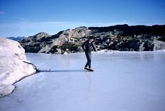 Moonwalk (Dru!) Tags: blue canada ice fun frozen slick pond bc flat natural hiking britishcolumbia exploring pale climbing alpine summit rink steven moonwalk bluewhite harrisonlake thriller scrambling unnatural coastmountains peakbagging stemalot harng snice eastharrison cogburncreek medissa