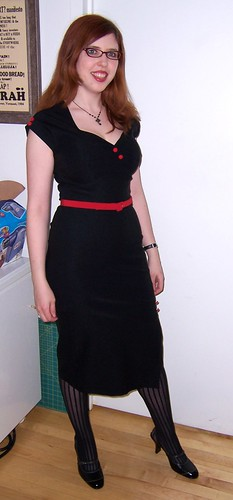 Stop Staring Valentine's dress