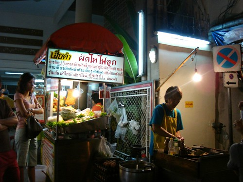 Fresh Pad Thai @ a Bangkok Night Market