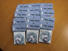 Packs De Papel Continuo (papelcontinuo.net) Tags: aniversario flyer sticker buttons pack badge button papel badges pegatinas chapa chapas continuo