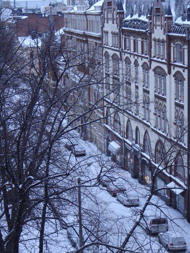 Helsinki talvella by Anna Amnell
