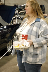 Folks at the Car Show (xcalakattack) Tags: people grande big fat great large american everywhere obese physique
