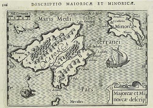 mapa de Petrus Bertius (1602)