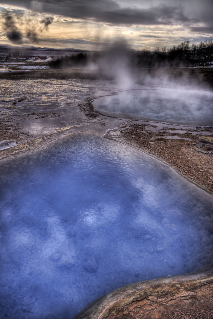 The Boiling Sulfur Pools of Iceland