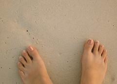 Happy Feet (Musical Mint) Tags: ocean trip travel summer sun holiday feet beach water island sand toes paradise carribean aruba pedicure musicalmint