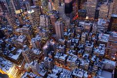 [フリー画像] [人工風景] [建造物/建築物] [街の風景] [ビルディング] [雪景色] [アメリカ風景] [ニューヨーク]    [フリー素材]