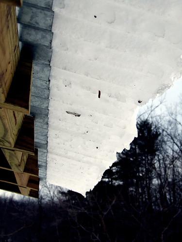 roof-snow slide
