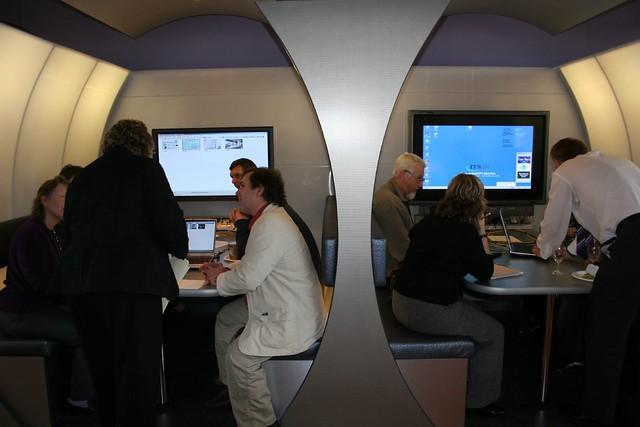 Booths, Techno-Café, Durham University