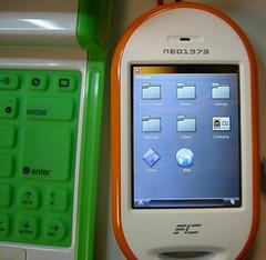 An openMoko Linux Phone