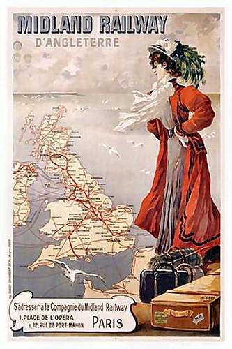Midland Railway d'Angleterre