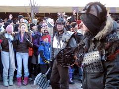 Burlington Mardi Gras: road warriors