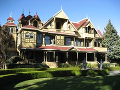 The Winchester Mystery House from the front. (01/07)