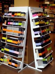Notebook porn! (sevenworlds16) Tags: art moleskine paper notebook store paint display knives supplies blick xacto notebookgasm