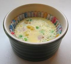 Microwave mini frittata