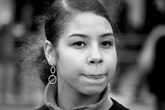 Poke your tongue out against the bomb (solarider) Tags: london girl tongue demo bush peace iran iraq protest lips poke antiwar blair protester cnd theface sg101141jpg httpwwwfacebookcomprofilephpid528866883 httpsolariderorgblog httpsurindersinghorg
