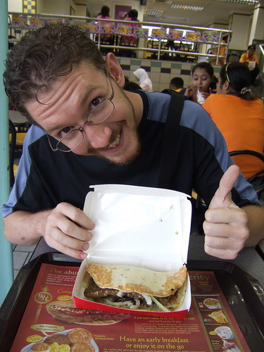 McDonalds Prosperity Beef Wrap