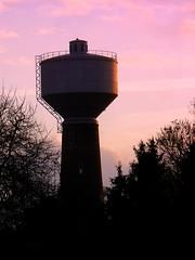 Wasserturm (acmelucky777 (so busy right now...)) Tags: night germany deutschland foto panasonic nrw nocturnas nuit notturne westfalen nordrhein  nachtaufnahmen alsdorf cinetowerkinoparkalsdorf