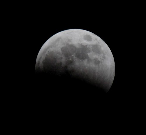 Eclipse lune 2007