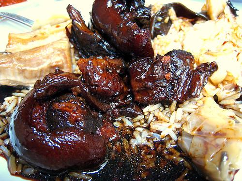 Pig Trotters in Black Vinegar