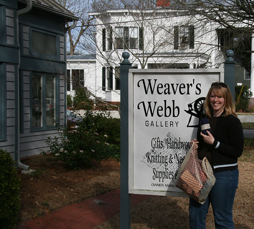 Weaver's Webb yarn shop