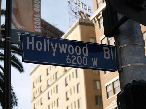 Hey mom, I am in hollywood! Foto de Flickr, cortesía de bossco