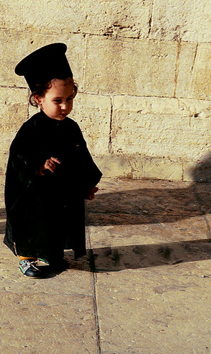 BEIT LECHEM - The young monk