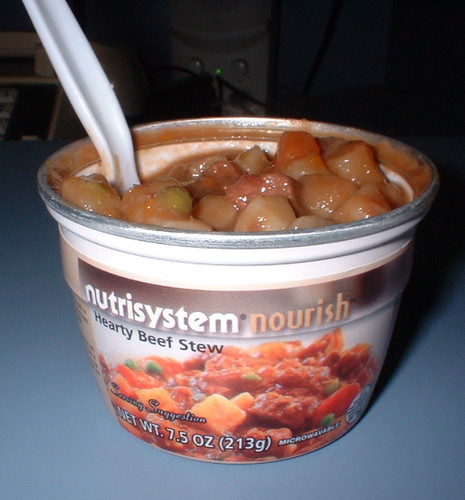 NutriSystem Hearty Beef Stew dinner