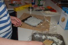 Spreading the rice
