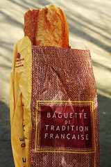 first baguette of the trip