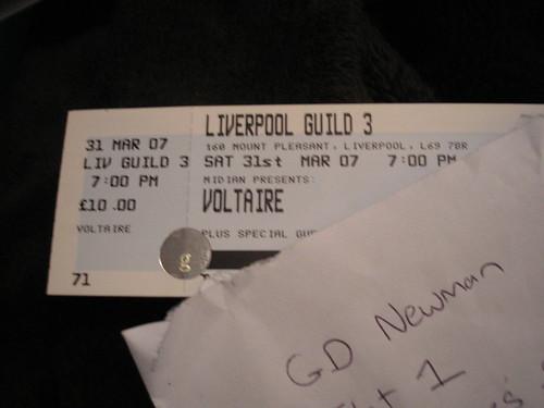 Voltaire tickets