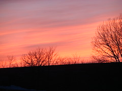 mckinnley sunset 007 (turtlesuit) Tags: winter sunset sky frozenlake