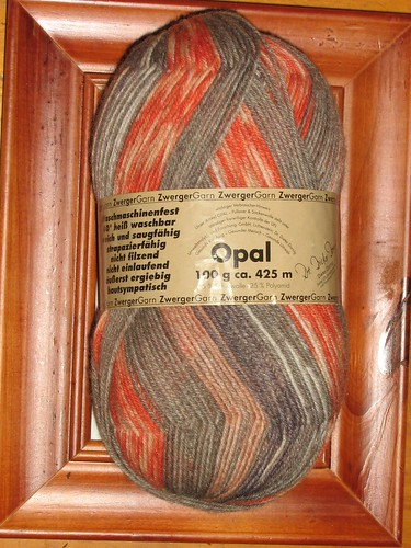 birthday opal sock yarn