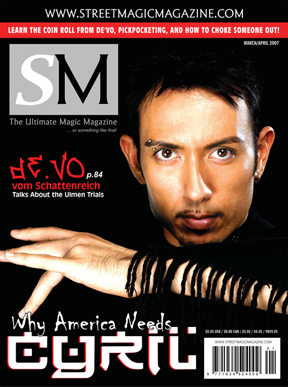 Street Magic Magazine
