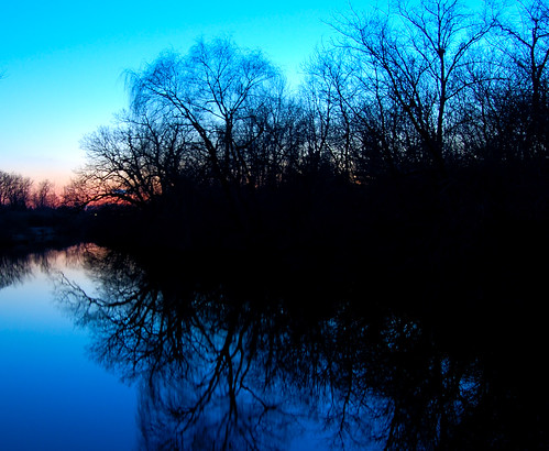 Sunset in Rural Woodstock