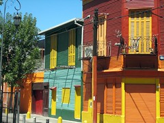 Caminito St in La Boca (Birthplace of the Tango)