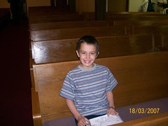 anakin in church